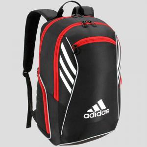 adidas Tour Team Backpack Black/White/Scarlet Tennis Bags