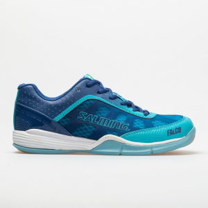Salming Falco Women's Indoor, Squash, Racquetball Shoes Limoges Blue/Blue Atol