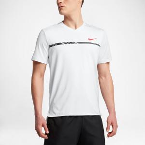 Nike Slam Tank Premium Women's Tennis Apparel White/Black/Hyper Orange