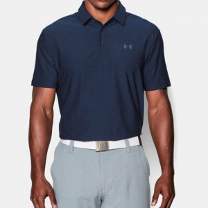 Under Armour Playoff Polo Men's Athletic Apparel Academy/Graphite/Graphite