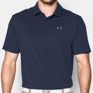 Under Armour Playoff Polo Men's Athletic Apparel Academy/Steel/Steel