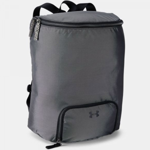 Under Armour Midi Backpack Sport Bags Black/White