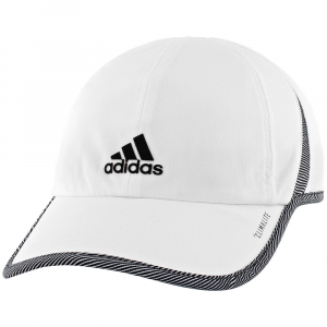adidas SuperLite Visor Women's Hats & Headwear White/Optic Stripe