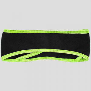 Trail Heads Goodbye Girl Ponytail Headband Hats & Headwear Black/Hi-vis Yellow