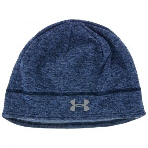 Under Armour Elements Fleece Beanie Women's Hats & Headwear Midnight Navy/Aurora Purple/Silver