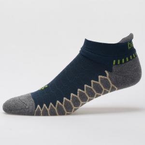 Balega Silver No Show Socks Spring 2018 Socks Legion Blue/Grey