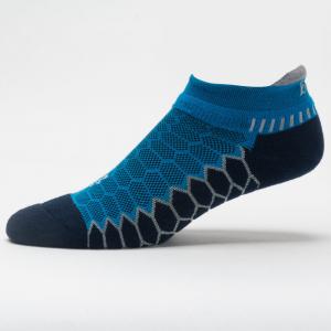 Balega Silver No Show Socks Spring 2018 Socks Bright Turquoise/Ink