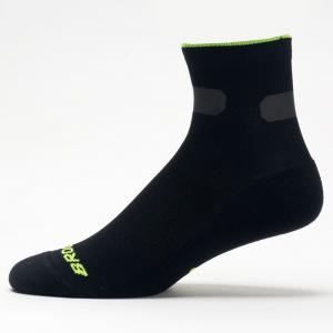 Balega Silver No Show Socks Socks Black/Carbon