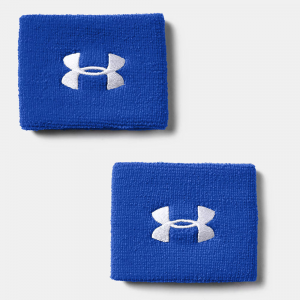 """Under Armour 6"""" Performance Wristbands Sweat Bands Royal Blue"""