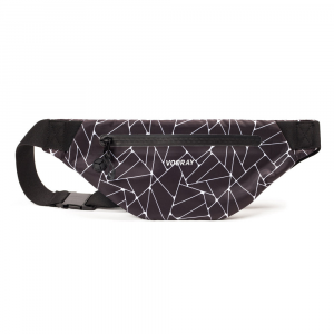 Vooray Active Fanny Pack Sport Bags Geometric Black