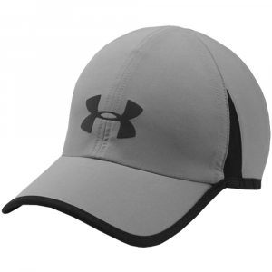 Under Armour Shadow 4.0 Run Cap Men's Hats & Headwear Steel/Black