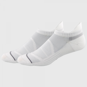 adidas Superlite Prime Mesh III Tabbed No Show 2 Pack Women's Socks White/Clear Grey/Light Onix