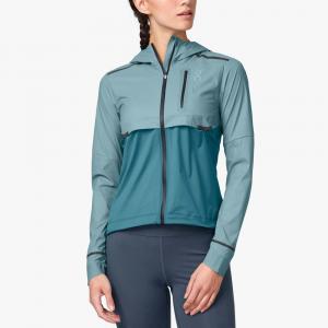 On Weather Jacket Women's Running Apparel Sea/Storm
