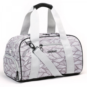 Vooray Burner Gym Duffel 23L Sport Bags Feather Gray