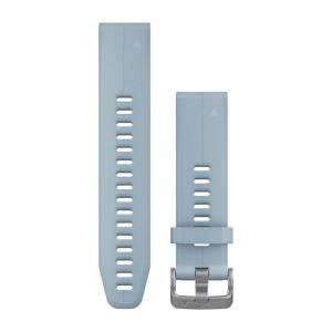 Garmin fenix 5s 20mm QuickFit Silicone Band HRM, GPS, Sport Watch Accessories Sea Foam Blue