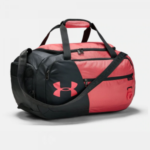 Under Armour Undeniable Duffle 4.0 Small Sport Bags Watermelon/Pitch Gray/Silver