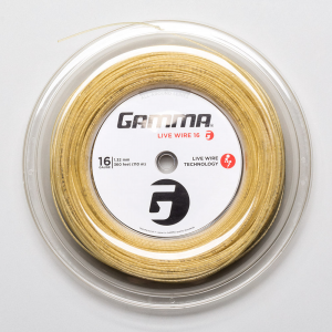 Gamma Live Wire 16 360' Reel Tennis String Reels