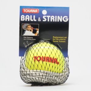 Unique Fill-N-Drill Replacement Ball Tennis Training Aids