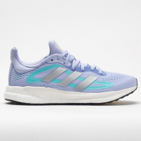 adidas Solar Glide 4 Women's Running Shoes Violet Tone/Silver Metallic/Orange Tint