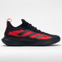 adidas Defiant Generation Men's Tennis Shoes Core Black/Core Black/Solar Red