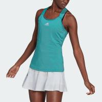 adidas Gameset Y-Tank Women's Tennis Apparel Mint Ton/Black