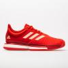 adidas SoleCourt Boost Women's Tennis Shoes Active Red/Soft Powder/Scarlet
