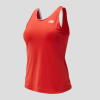 New Balance Rally Court Tank Women's Tennis Apparel Coral Glow