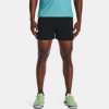 "Under Armour Qualifier Speedpocket 5"" Shorts Men's Running Apparel Black/Pitch Gray"