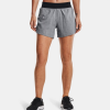 "Under Armour SW 5"" Shorts Women's Running Apparel Black Full Heather"