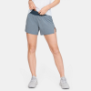 "Under Armour SW 5"" Shorts Women's Running Apparel Downpour Gray"