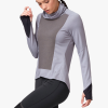 On Weather-Shirt Women's Running Apparel Fossil/Rock