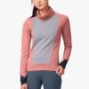 On Weather-Shirt Women's Running Apparel Dustrose/Fossil