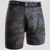 "2UNDR Gear Shift 9"" Boxer Briefs Prints Running Apparel Dark Camo"