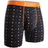 "2UNDR Swing Shift 6"" Boxer Briefs Patterns Running Apparel Dot Com"