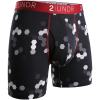 "2UNDR Swing Shift 6"" Boxer Briefs Patterns Running Apparel Metro Sexual"
