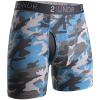 "2UNDR Swing Shift 6"" Boxer Briefs Patterns Running Apparel Ice Camo"
