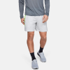 "Under Armour Launch SW 7"" Shorts Men's Running Apparel Halo Gray/Lime"
