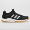 adidas Court Team Bounce Women's Indoor, Squash, Racquetball Shoes Core Black/Silver Metallic/Gum