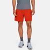 "Under Armour Launch SW 7"" Shorts Men's Running Apparel Ultra Orange/Orange Spark"