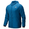 New Balance Impact Run Light Pack Jacket Men's Tennis Apparel Mako Blue
