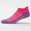 Balega Silver No Show Socks Socks Bright Lilac/Watermelon
