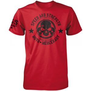 Speed and Strength - Moto Mercenary Tee