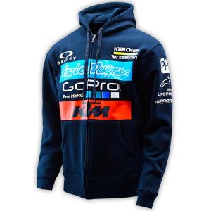Troy Lee Designs - KTM Team Fleece Zip Hoodie
