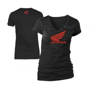 Honda Apparel  - Ladies Abstract Wings Short Sleeve Tee