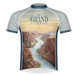 Primal Grand Canyon National Park Women's Sport Cut Cycling Jersey