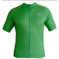 Bend It Electric Shamrock Green Recumbent Cycling Jersey