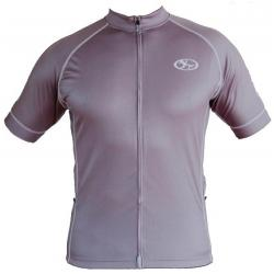 Bend It Steel Gray Recumbent Cycling Jersey