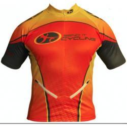 Bend It Tangerine Dream Recumbent Cycling Jersey
