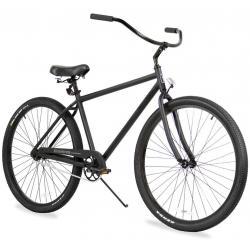 "Firmstrong Black Rock Single Speed 29"" Beach Cruiser Bike"
