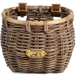 Nantucket Bike Baskets Tuckernuck Rattan Collection - Classic Tapered